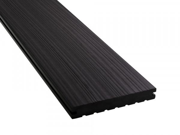 KAHRS WPC Terrassendielen, 20x140 mm, Massiv, Anthrazit, Grob/Strukturiert_2