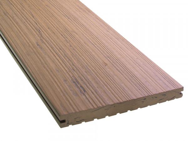 KAHRS WPC Terrassendielen, 20x200 mm, Massiv XL, Herbstbraun, Grob/Strukturiert_2