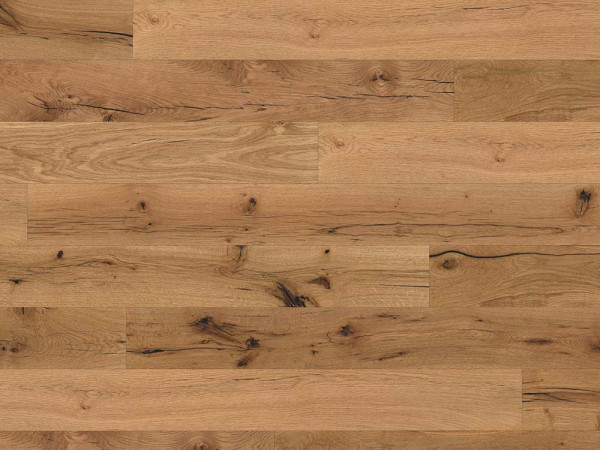 "KAHRS Parkett ""Eiche Country"" Rustikal, naturgeölt, leicht gebürstet, schwarz gespachtelt, 14x190x1900 mm, mit Microfase (VE 2,89 qm)_1"