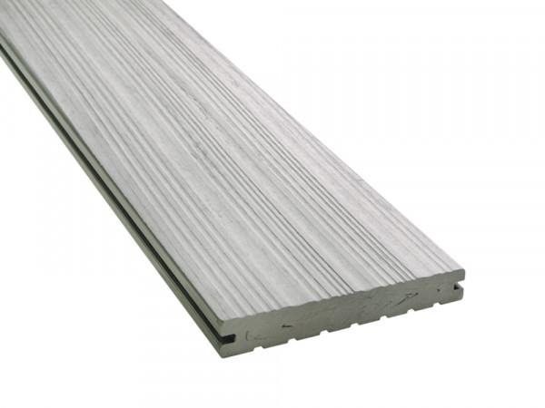 KAHRS WPC Terrassendielen, 20x140 mm, Massiv, Steingrau, Grob/Strukturiert_2