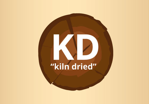 kiln-dried