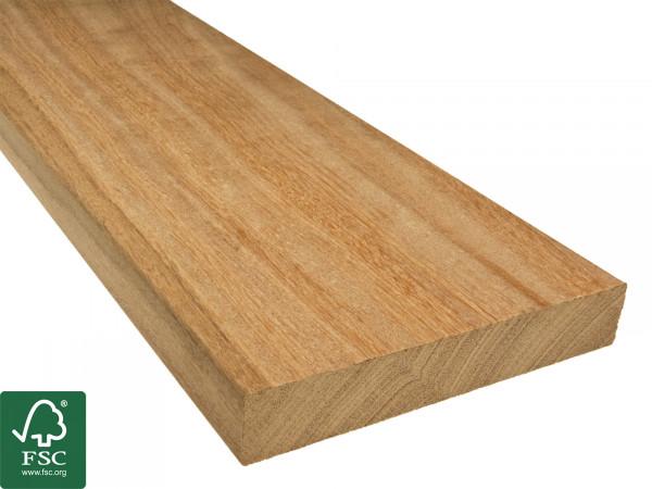 Cumaru FSC 100% Terrassendielen, 25x145 mm, KD, glatt/glatt, aus deutscher Produktion_2