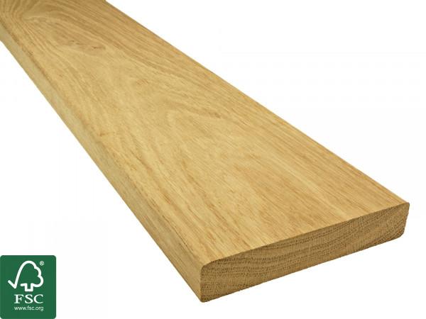 Eiche FSC 100% Terrassendielen, 23x140 mm KD, glatt/glatt *Rustikal*_2