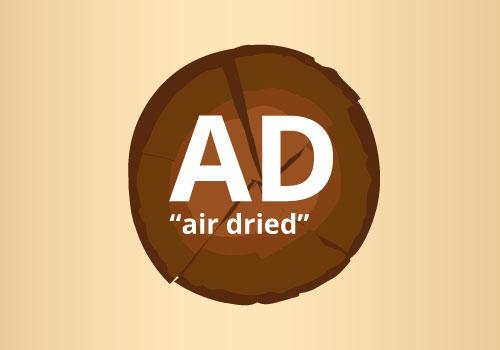air-dried